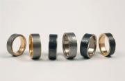 Niobiumgold Ring
